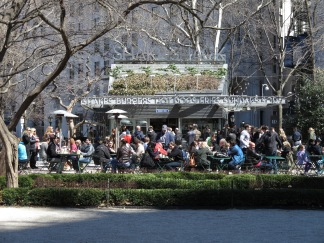 The Shake Shack activates the Madison Square Park in New York City